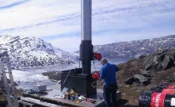 Shipping Large-Scale Waste Management Facilities to Remote Locations in Greenland