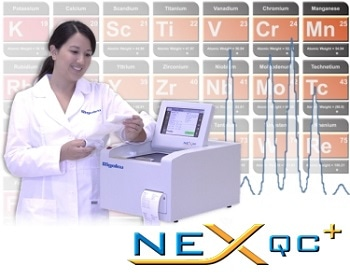 NEX QC+ Energy Dispersive X-Ray Fluorescence Analyzer by Rigaku