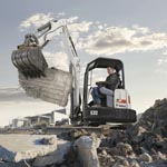 E32 Compact Excavator from Bobcat company