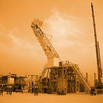 Desert Oil Drill Rigs from Derrick Services (UK) Ltd