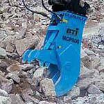 MCP Series Hydraulic Pulverizers from Breaker Technology Inc.