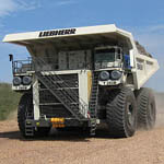 T 282 B Diesel Electric Mining Truck from Liebherr