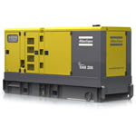 Portable diesel powered Generating sets from Atlas Copso