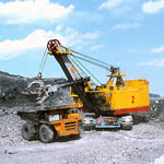 Crawler-mounted draglines from Uralmash Machine-Building Corporation