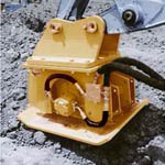 MM Series Hydraulic Plate Compactors from Tramac Corporation