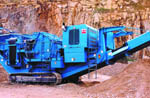 4242SR Track Impact Crusher from Terex Corporation