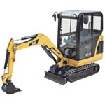 301.6C Mini Hydraulic Excavators from Caterpillar