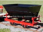 Side Dump Mine Car from Anshan Heavy Duty Mining Machinery Co., Ltd.