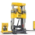 Low Profile, Lightweight Raise Drilling Machine – Robbins 44RH C LP from Atlas Copco