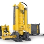 Energy Efficient Raise Boring Machine – The Robbins 73RVF C from Atlas Copco