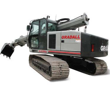 Crawler Excavators from Gradall Industries Inc.