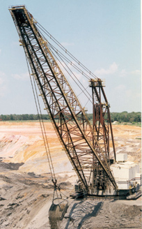 Draglines from Hensley Industries, Inc