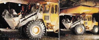BM LM 1641 Underground Loader from Volvo