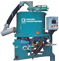 Centre Discharge Concentrator from Knelson