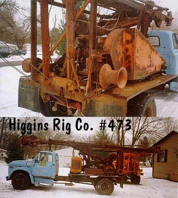 69 Loomis Clipper 24 Cable Tool Rigs from Higgins Rig Co.