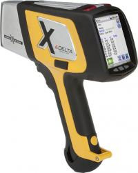 The Delta Handheld Xrf X Ray Fluorescence Analyzer From