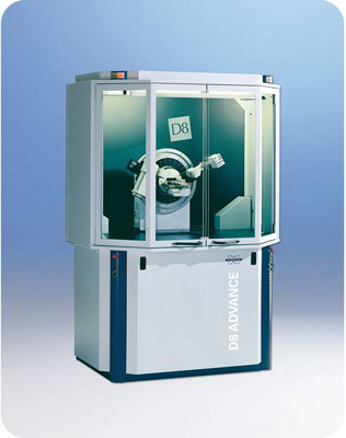 X-Ray Diffractometer (XRD ) - D8 Advance from Bruker