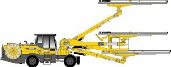Boomer E3 C Face Drilling Rig from Atlas Copco