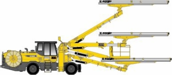 Boomer WE3 C: Face Drilling Rig from Atlas Copco