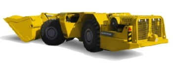 Scooptram ST1030LP Underground Loader by Atlas Copco
