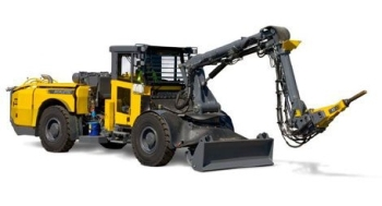 Diesel Hydraulic Scaling Rock Drill Rig for Tunnelling and Mining - Scaletec LC-DH from Atlas Copco
