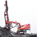 DX700R Surface Tophammer Drill Rigs from Sandvik Mining and Construction