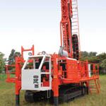 DE740 Drill rigs from Sandvik Mining and Construction