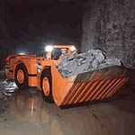LH203E Underground loaders from Sandvik Mining and Construction