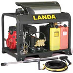 PGDC Series Hot Water Pressure Washers from Landa pressure washer
