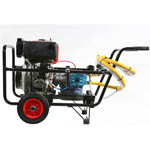 10 hp Diesel Cold Pressure Washer from Euroquipe