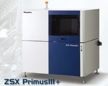 ZSX Primus III+ Tube-Above Wavelength Dispersive X-Ray Fluorescence Spectrometer