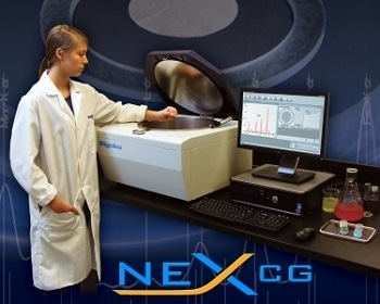 NEX CG Cartesian-geometry Energy Dispersive X-ray Fluorescence Spectrometer
