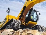 JCB Releases JS360 Impact-Resistant Tracked Excavator