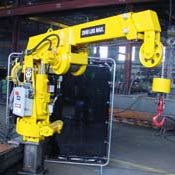 AR0101 Removable 1 ton Rail Crane from Arva Industries