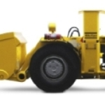 Electric  Underground Loader from Atlas Copco (Scooptram EST2D)