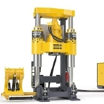 High Torque and Thrust Small Diameter Raise Drill – The Robbins 44RH C from Atlas Copco