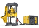 Low Profile Small Diameter Raise Drill for Slot Raises, Back Filling and Narrow Vein Mining - Robbins 34RH C
