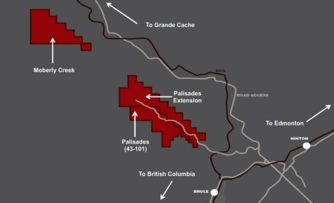 Altitude Provides Update on 2016 Exploration Program at Palisades Project in West Central Alberta