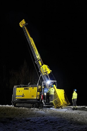 Atlas Copco to Launch New Christensen140 at MINExpo - Increased Safety on the Surface