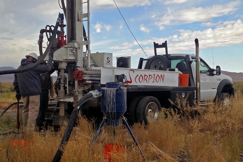 Commissioning of Scorpion Drill Rig Completed by Nevada Exploration