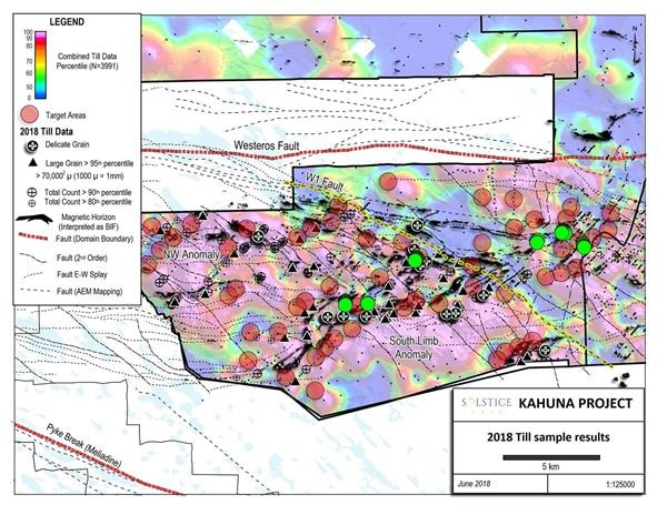 Solstice Gold Reports Latest Results from Exploration Program at Kahuna Gold Project