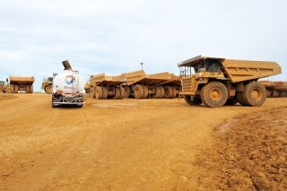 Total Wins Newcrest Lihir Gold Mine Mining Contract