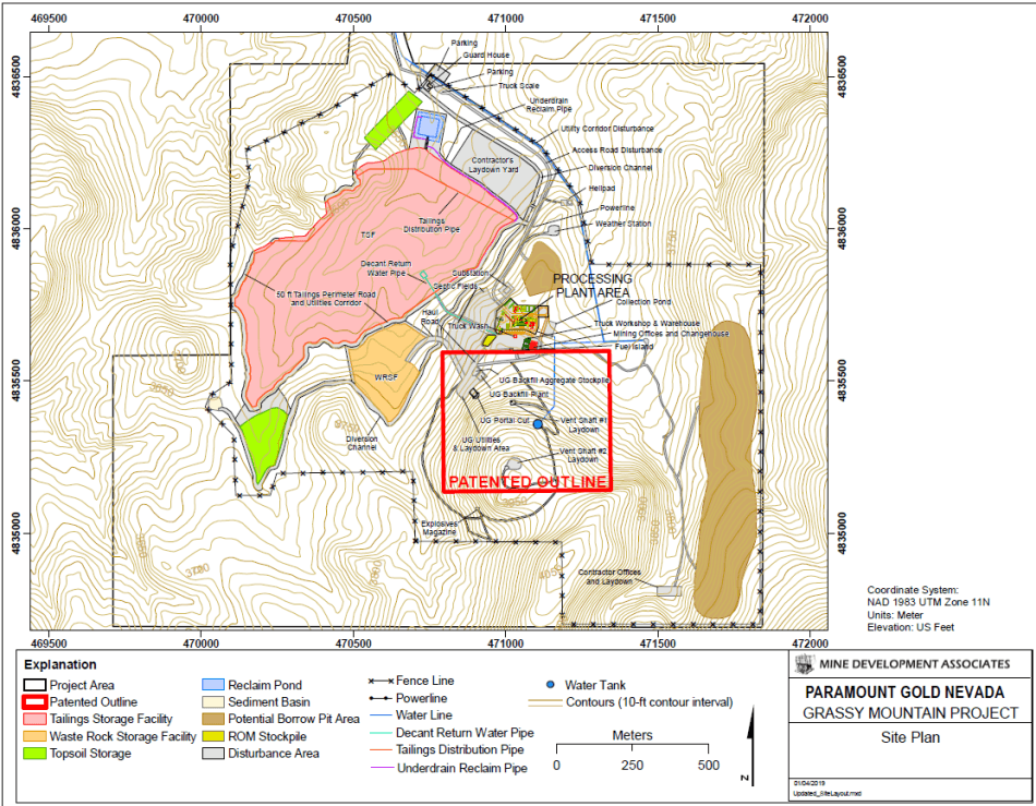 Paramount Could Soon Get Approval for Conditional Use Permit for Its Proposed Grassy Mountain Gold Mine