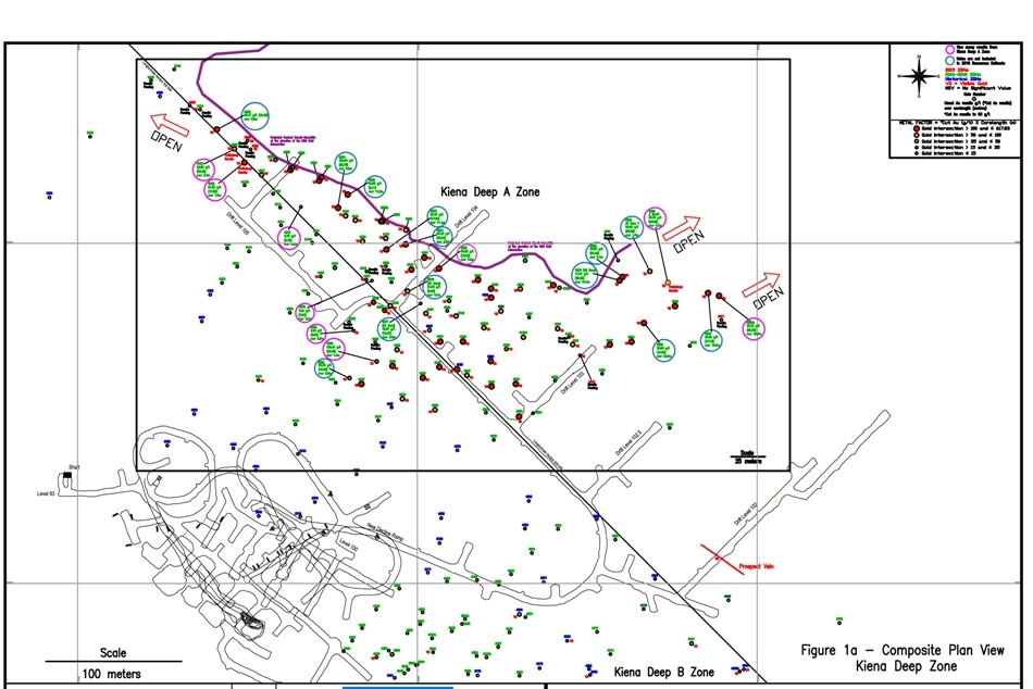 Ongoing Exploration Drilling of Kiena Deep A Zone Continued by Wesdome Gold Mines