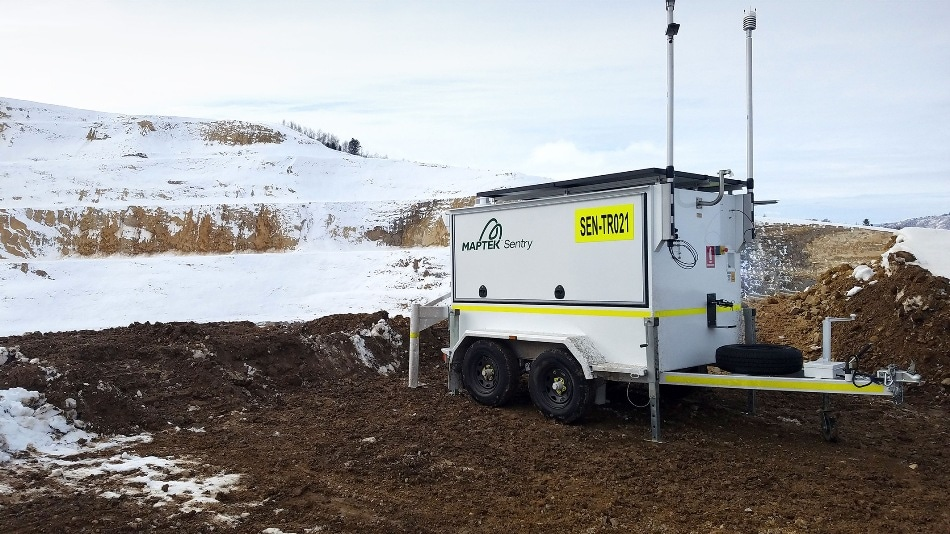 Sentry Safe, Continuous Mine Monitoring Extended to Cold Climates