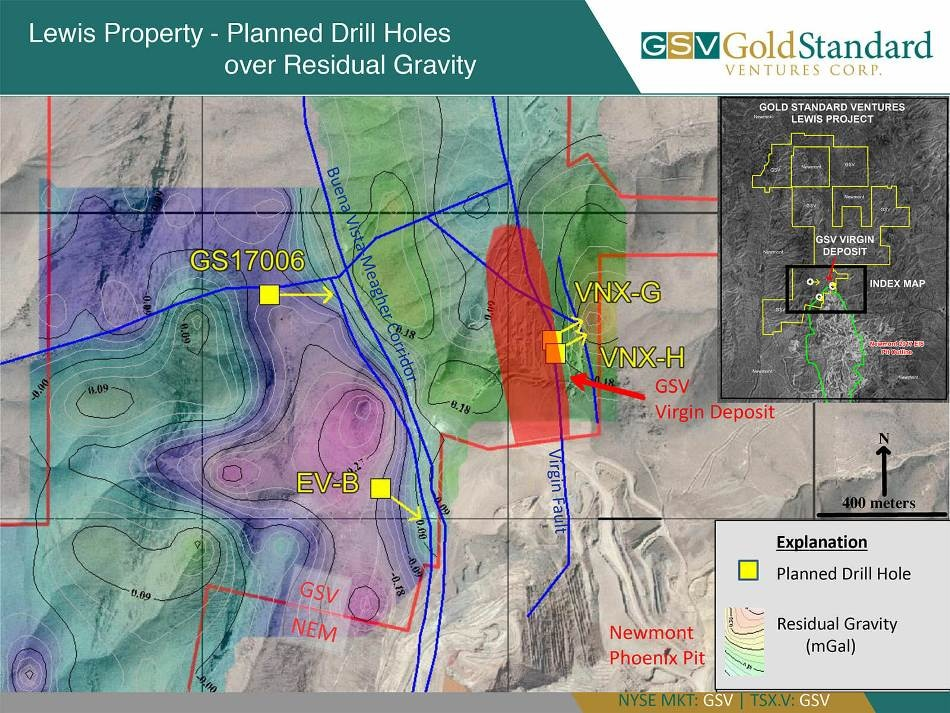Gold Standard Commences Drilling at Lewis Project, Nevada