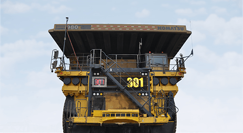 Komatsu 980E-4AT Deployed into Production in Canada to Ensure Enhanced Mine Productivity