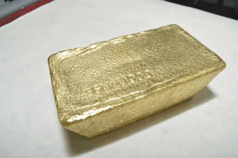 Pouring of 1000th Gold Bar at Selinsing Gold Mine Reported by Monument Mining
