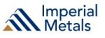 Imperial Announces Second Quarter Metal Production from Mount Polley, Huckleberry and Sterling Mines