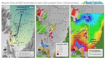Nevada Exploration's Infill Borehole Program Establishes Large Carlin-type Gold Deposit Target